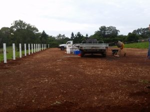 Big Country PVC Fencing supplied materials for DIY fence installation