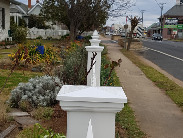 PVC 1200mm Scallop Picket Fence with Gate