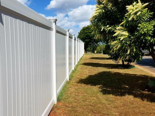 PVC Castle Privacy Fence 1800mm