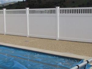 Big Country PVC Fencing Pool Safety Fencing